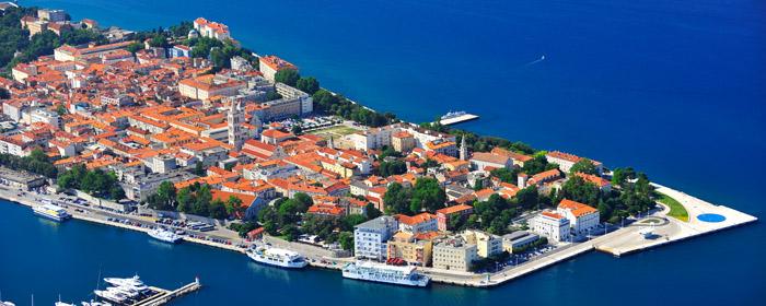 (C) Copyright Festungsstadt Zadar in Dalmatien: Kroatische Zentrale für Tourismus/Ivo Pervan