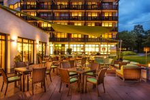 Terasse (c) Hotel Königshof Bad Füssing