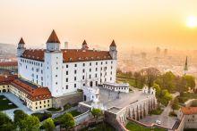 Aerial view of Bratislava Castle (c) @MS Agency