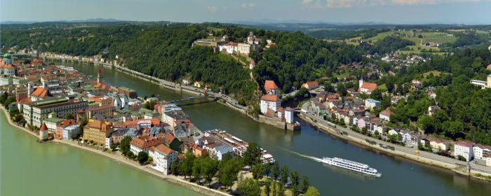 Blick von oben (c) Stadt Passau