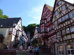 Fachwerkhäuser (c) Tourismusgemeinschaft Miltenberg Bürgstadt Kleinheubach