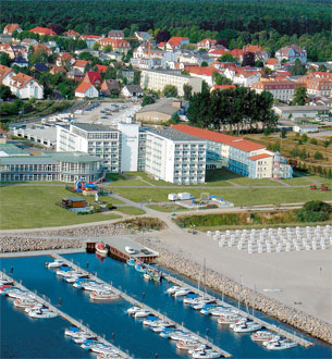 Luftaufnahme des Morada Resorts Kühlungsborn (c) Morada Resort Kühlungsborn